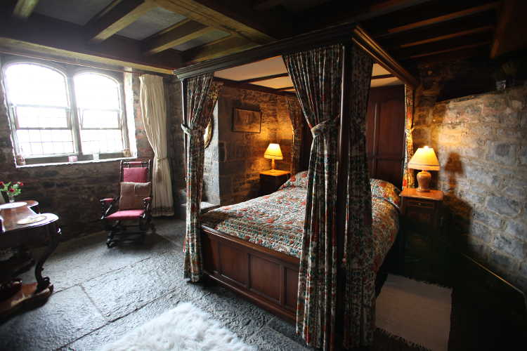Beautiful Castle Bedroom