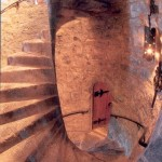Castle Spiral Staircase