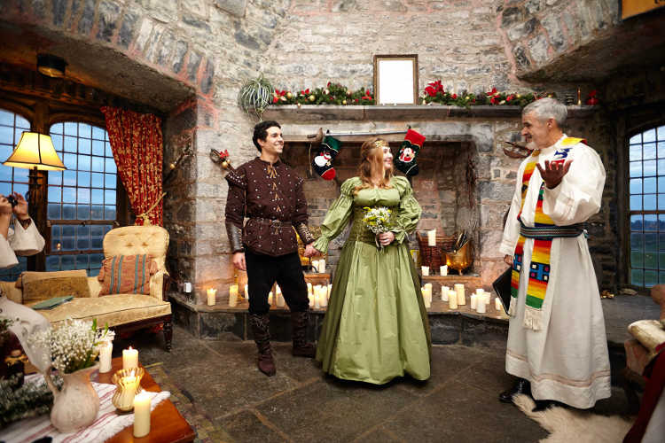 Irish Castle Wedding Ceremony