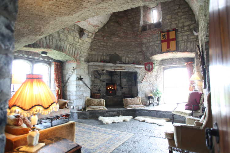 Castle Living Room 171 Rent An Irish Castle Ballyhannon Castle