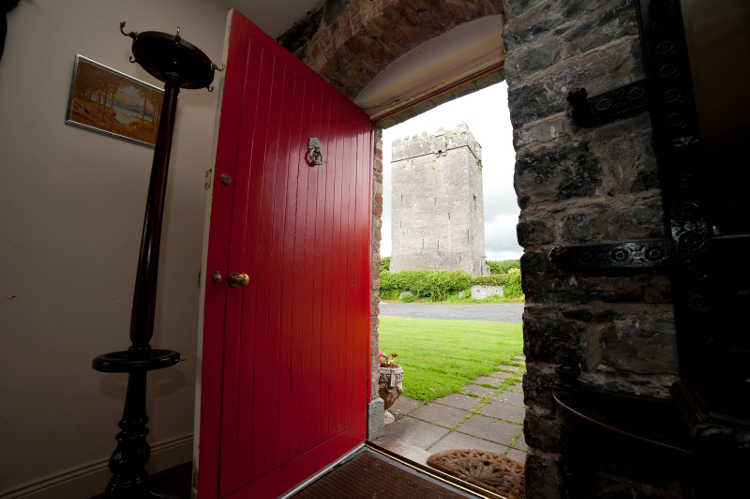 View of Castle From Coach House Doorway